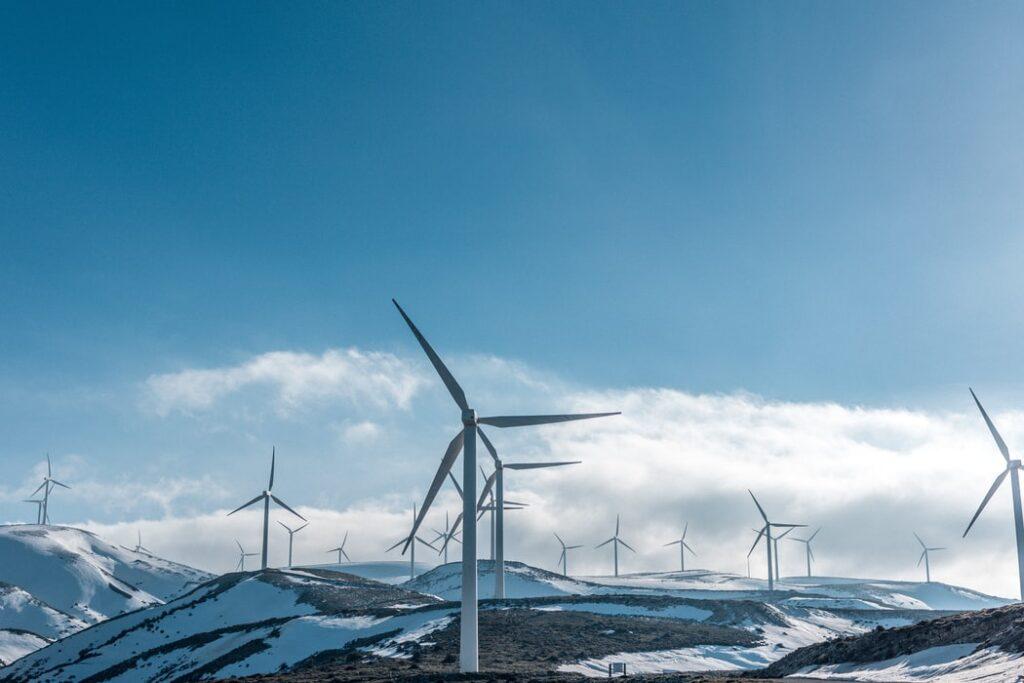 Windfarm sustainable energy