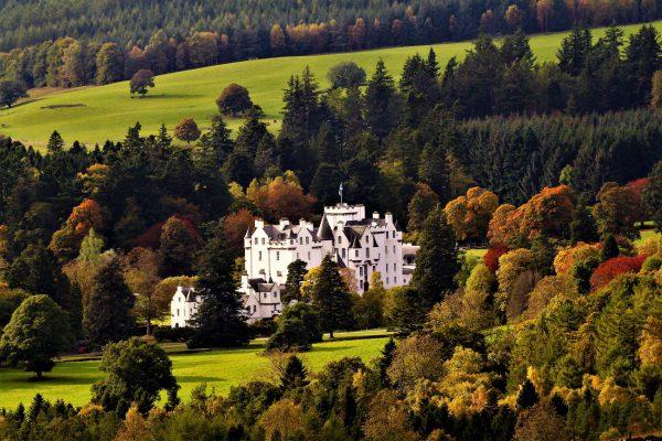 Blair Castle Autumn