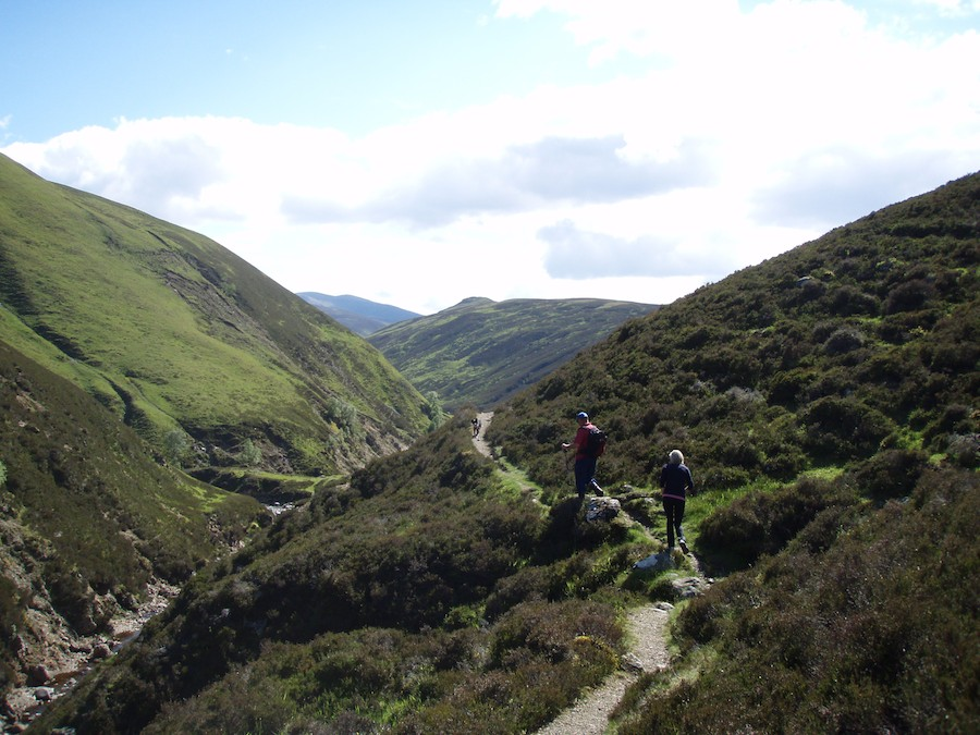 Blair Castle trekking