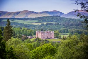 Drumlanrig Castle and the Scottish landscape