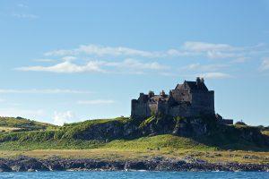 Duart Castle on the Isle of Mull, Scotland
