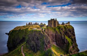 Dunnottar Castle in Stonehaven, Scotland