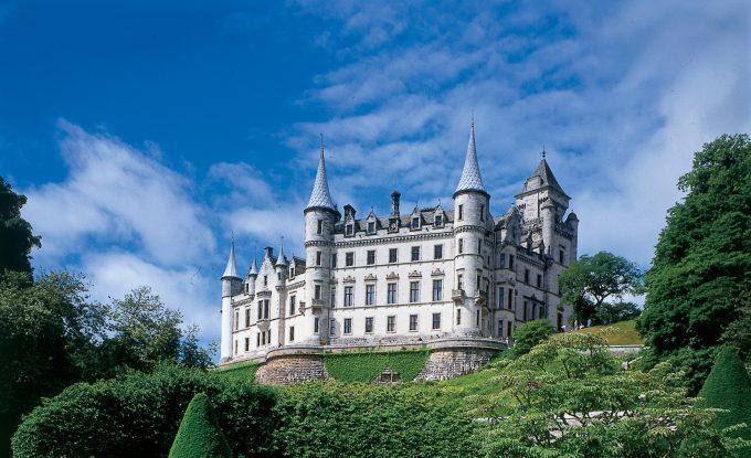 Dunrobin Castle near Inverness in Scotland