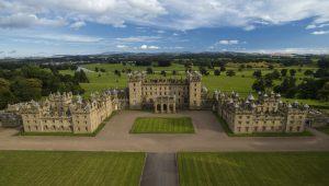 Floors Castle in Scotland