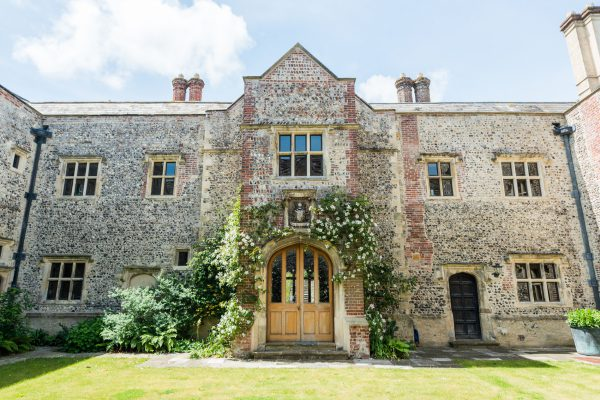 Glynde Place in East Sussex
