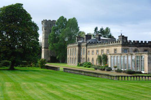 Gordon Castle Grounds and Gardens in Scotland
