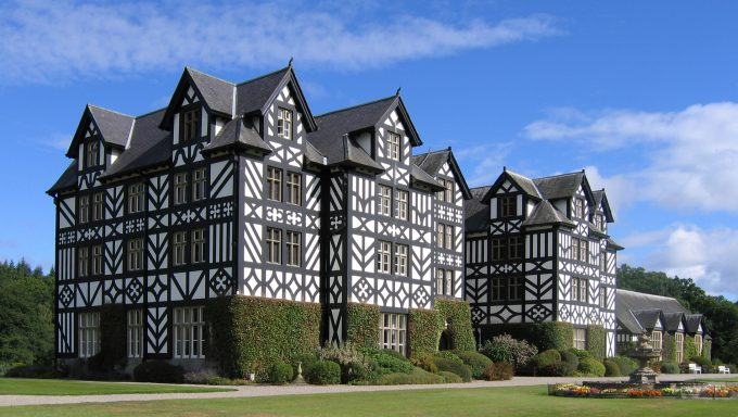 Gregynog Hall in Wales