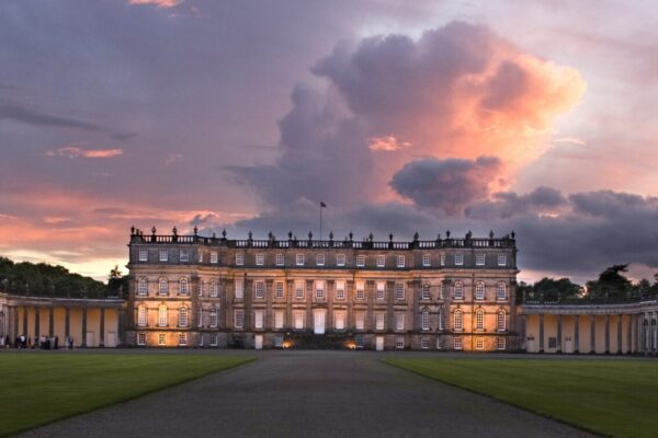 Hopetoun House in West Lothian near Edinburgh