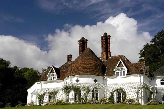 Houghton Lodge Gardens in Hampshire