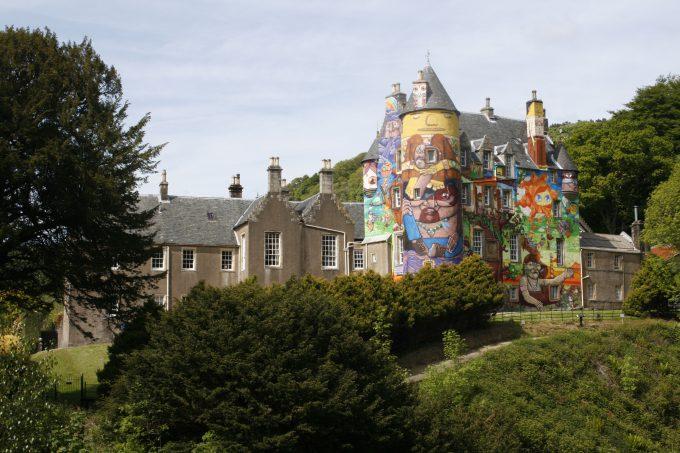Kelburn Castle in Ayrshire