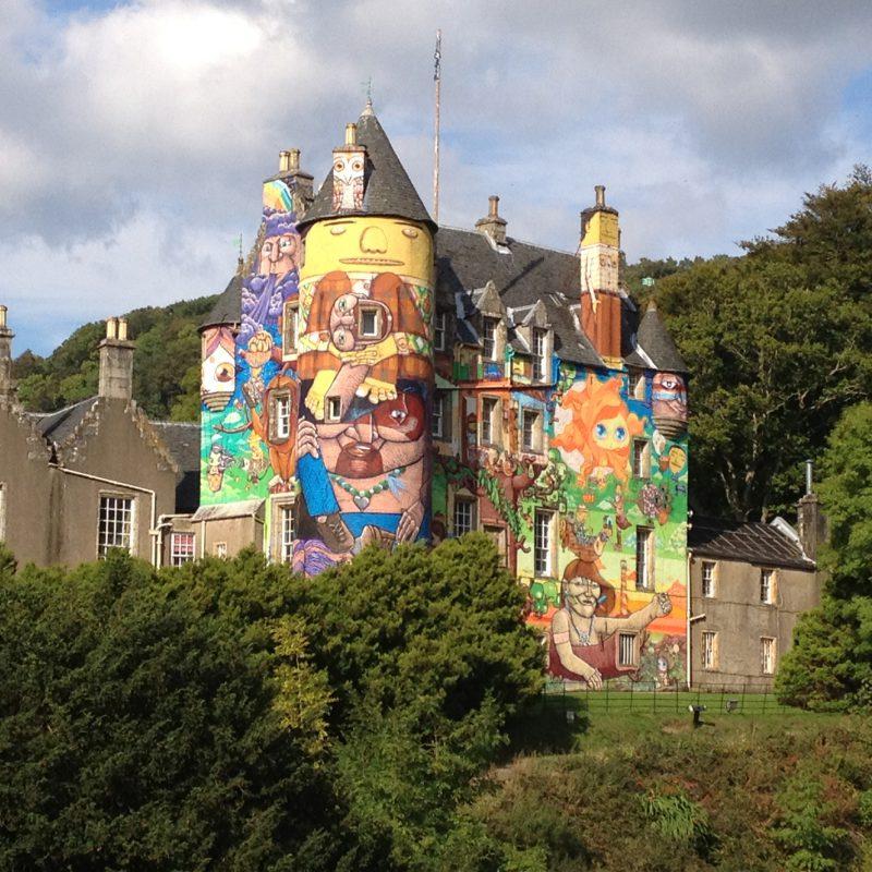 Kelburn Castle in Scotland