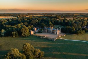 Knebworth House and Gardens is a stunning stately home in England