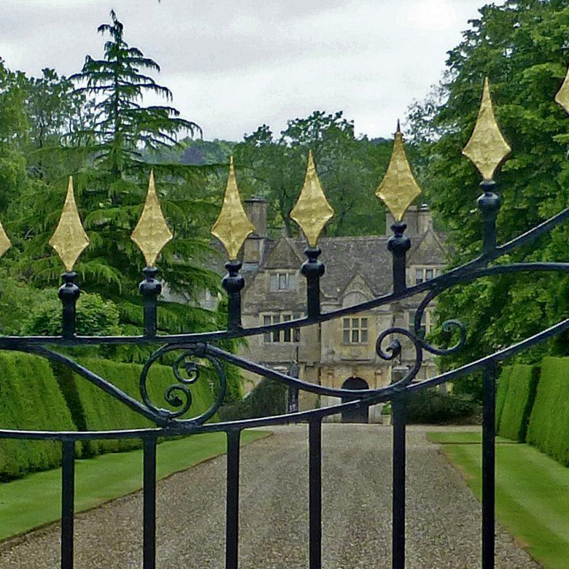 Upper Slaughter Manor gate