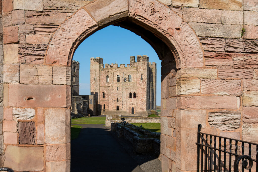 Bamburgh Castle, Entrance