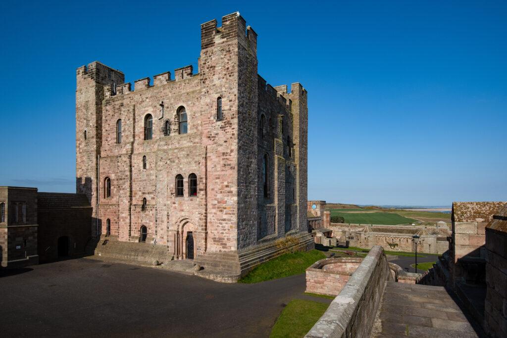 Bamburgh Castle, Keep