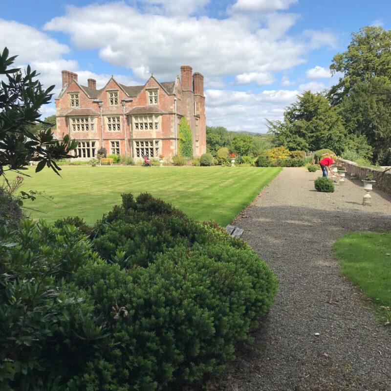 Acton Scott Hall grounds