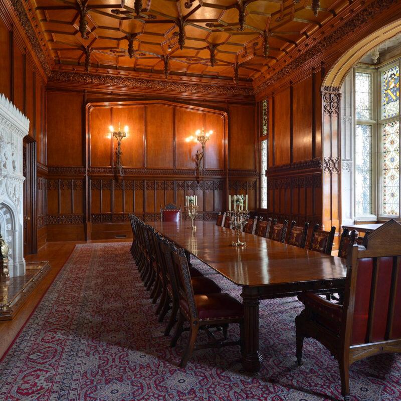 Allerton Castle dining room