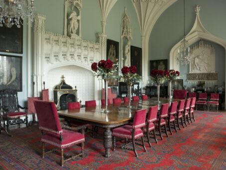 Arbury Hall dining rooms