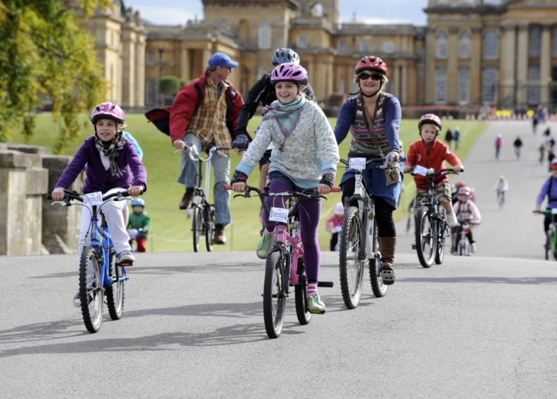 Blenheim Palace bike ride