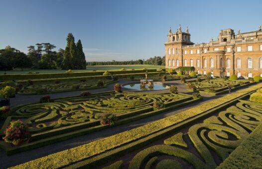 Blenheim Palace garden landscaping