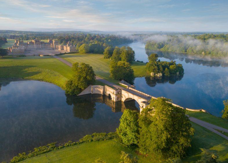 Blenheim Palace UNESCO World Heritage Site Oxfordshire