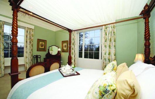 Bressingham Hall bedroom