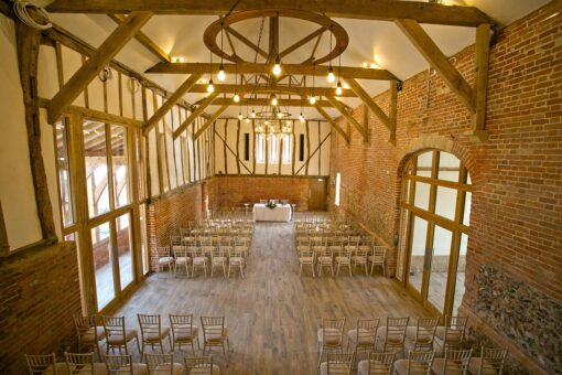 Bressingham Hall interior ceremony