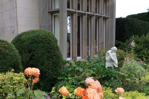 Broadward Hall garden roses