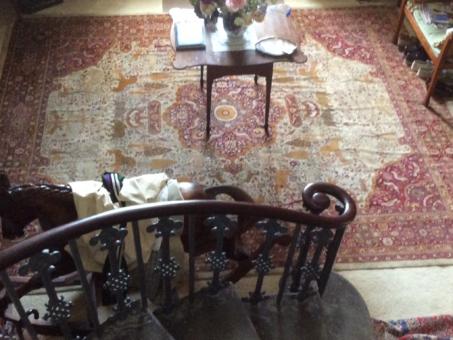 Broadward Hall historic Chinese rug