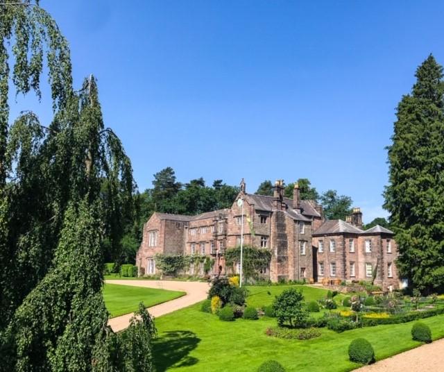 Browsholme Hall grounds