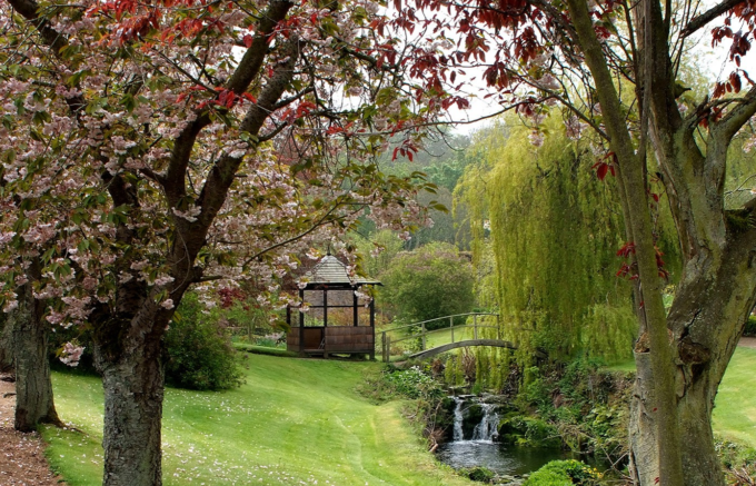 Cambo House walled garden