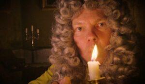 Candle blown at Fairfax House
