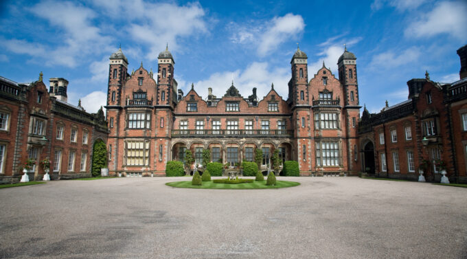 Capesthorne Hall front