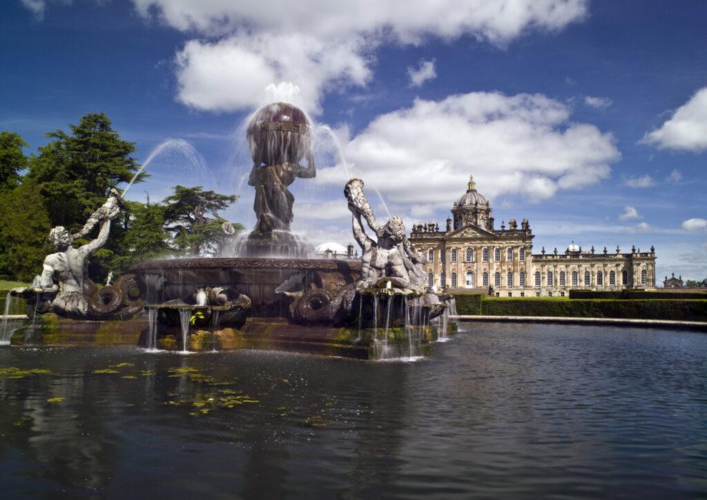 Castle Howard water fountain sculpture