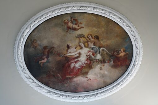 Camden Place Ceiling painting