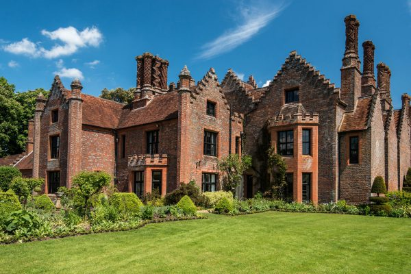 Chenies Manor House from the front