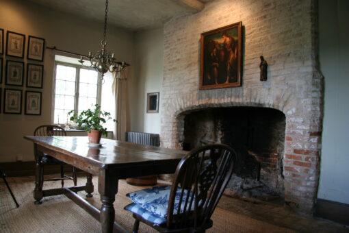 Columbine Hall dining room