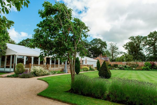 Combermere Abbey pavilion for weddings