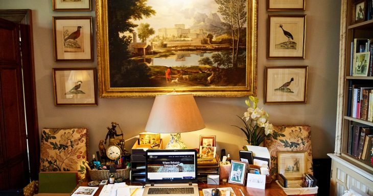 Computer desk Sudeley