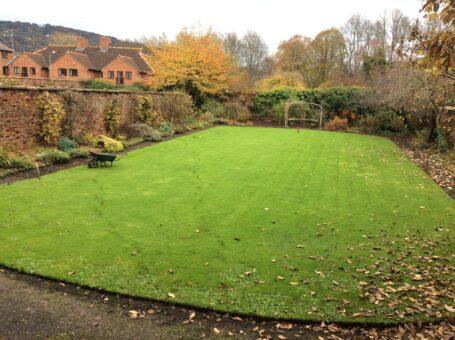 Cornwall House garden