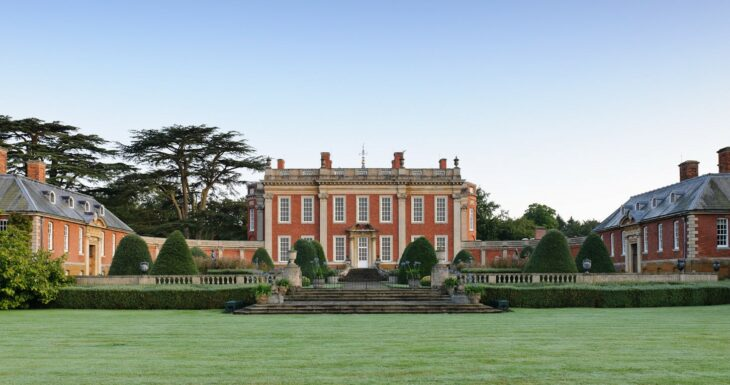 Cottesbrooke Hall front view