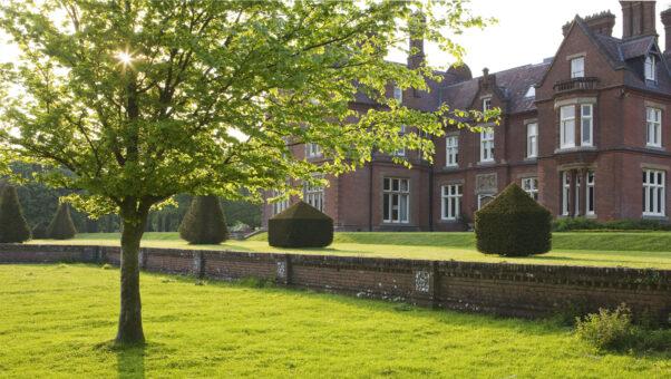 The south front of Doddington Place Gardens, Kent - Photo by Clive Nicholls