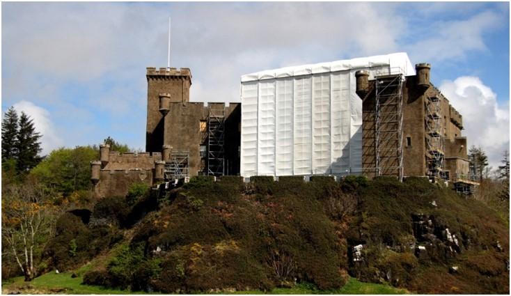 Dunvegan Castle - Conservation and restoration