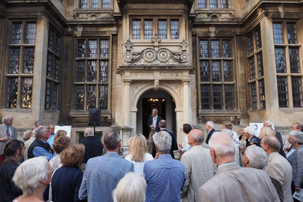 Outside lecture at The Hall Bradford on Avon