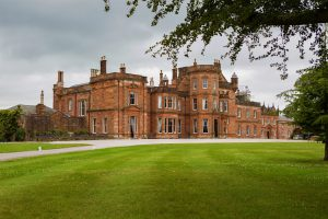 Netherby Hall in Cumbria