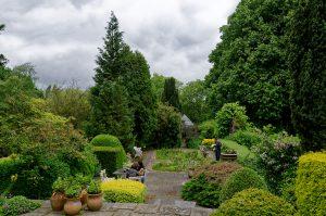 Gibberd Garden grounds with gardeners