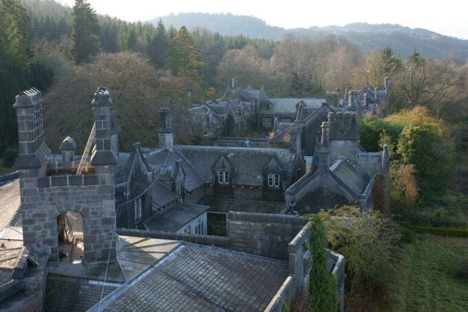 Golden Grove impressive historic roof