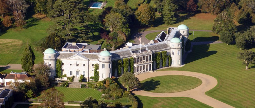 Goodwood House is a beautiful historic house next to the famous racecourse