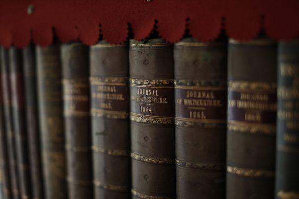 Gresgarth Hall Library Books
