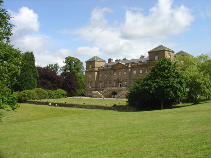 Hagley Hall gardens and grounds